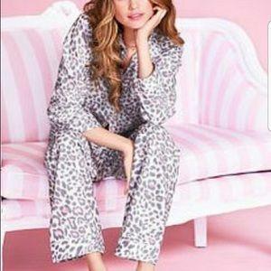 Victoria's Secret Leopard Pajama Set